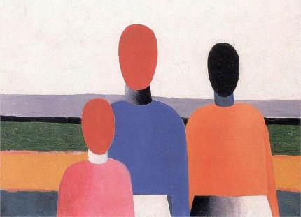 Malevich, 3 vrouwen, 1928