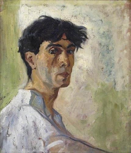 Shalva Kikodze, Self portrait, 1920
